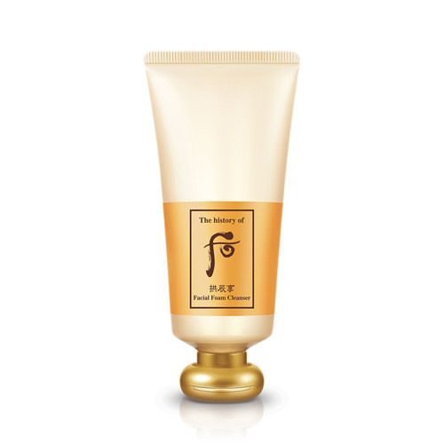 The history of Whoo Facial Foam Cleanser 180ml